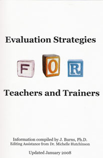 Evaluation Strategies for Teachers and Trainers - by Dr. Janet Burns